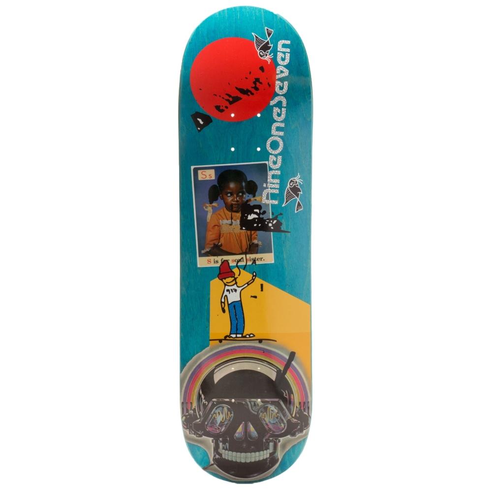 Call Me 917 Olson Art School Part 2 Skateboard Deck 8.5