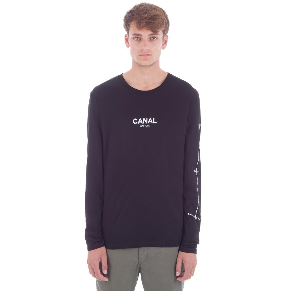 Canal Film Festival Long Sleeve T-Shirt (Black)