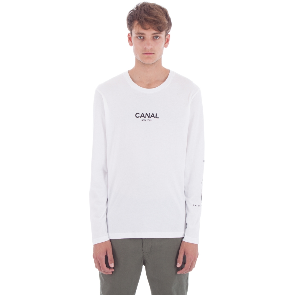 Canal Film Festival Long Sleeve T-Shirt (White)