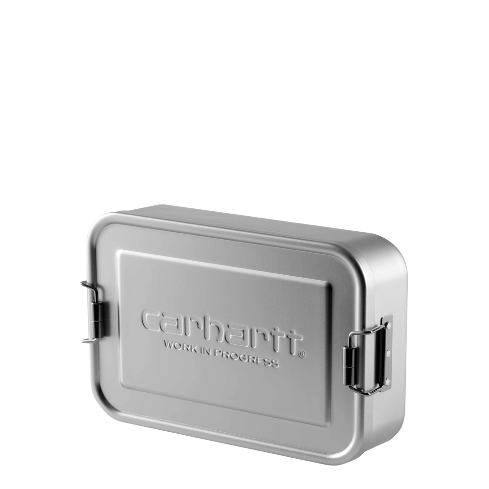 Carhartt Aluminium Lunch Box (Silver)