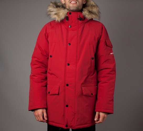 beauty affordable price reliable quality Carhartt Anchorage Parka (Deep Red/Broken White) - Consortium.