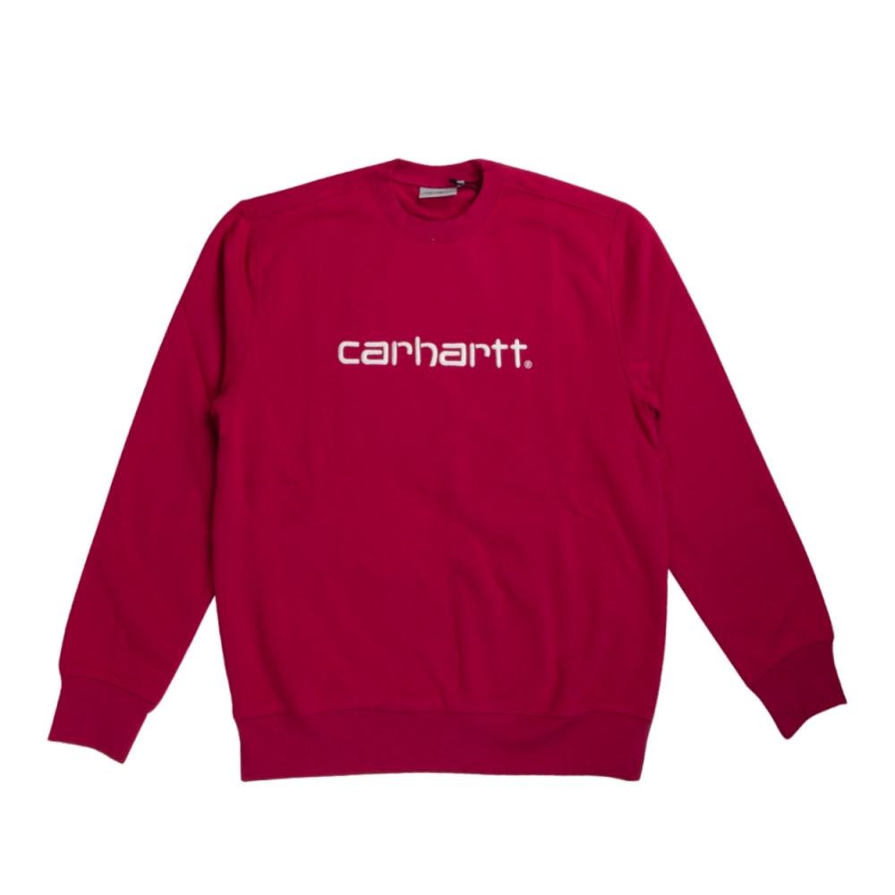 Carhartt Crew Neck Sweatshirt (Tango/White)