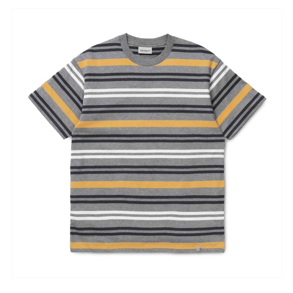 Carhartt Kress T-Shirt (Dark Grey Heather Stripe)