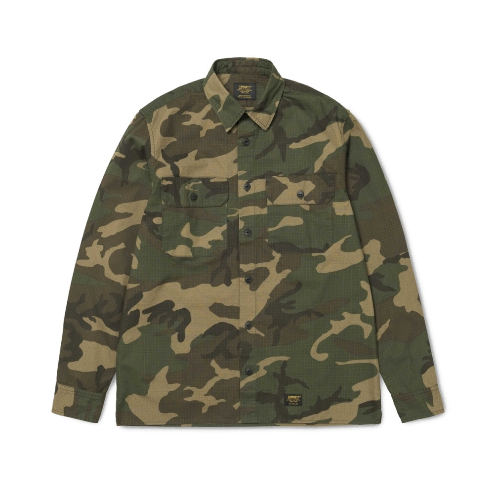 Carhartt Mission Long Sleeve Shirt (Camo Laurel)