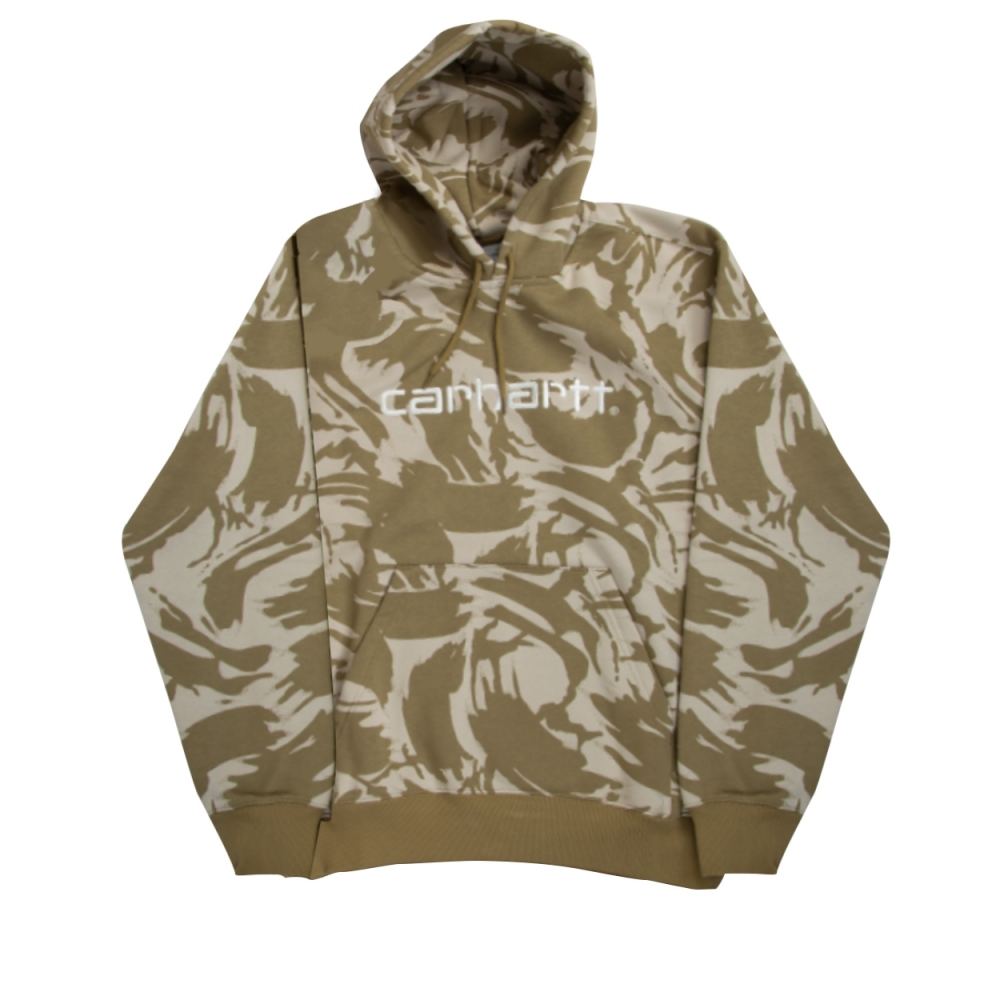 Carhartt Pullover Hooded Sweatshirt (Camo Brush/Sands)
