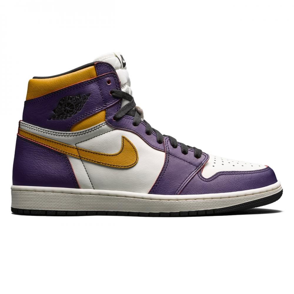 Nike SB x Air Jordan 1 High OG 'Defiant' (Court Purple/Black-Sail-University Gold)