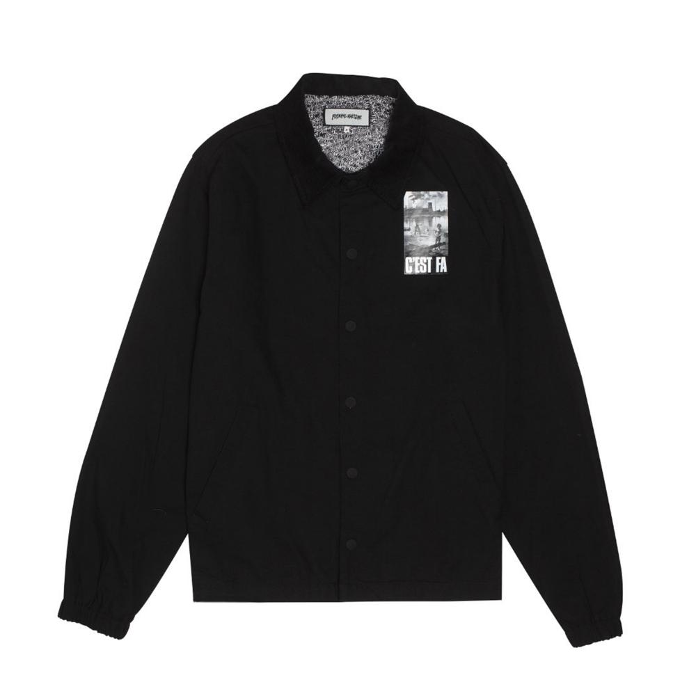 Fucking Awesome C'EST FA Coaches Jacket (Black)