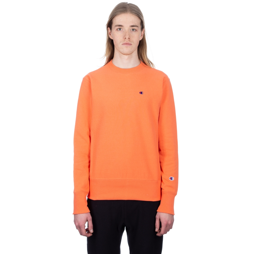 Champion Reverse Weave Crew Neck Sweatshirt (Salmon)