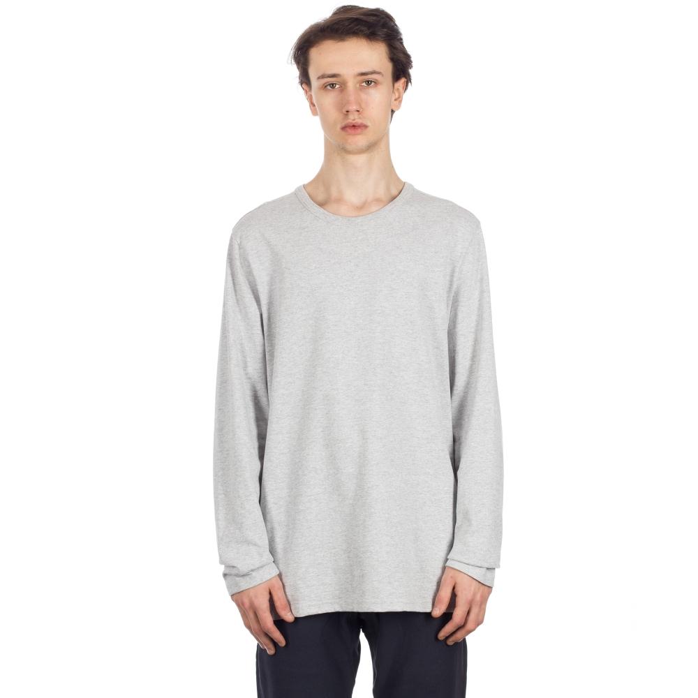 afa300fe Champion Reverse Weave Long Sleeve T-Shirt (Light Oxford Grey ...