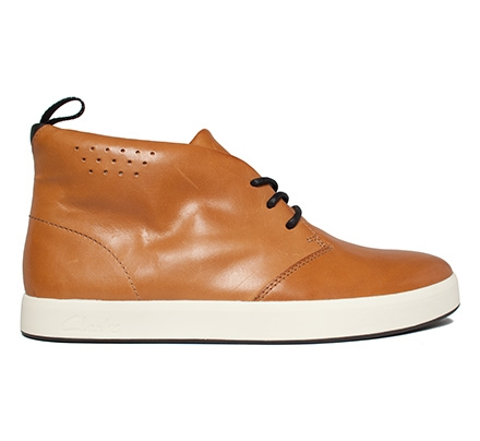 Clarks Originals Tanner Mid (Tan Leather)