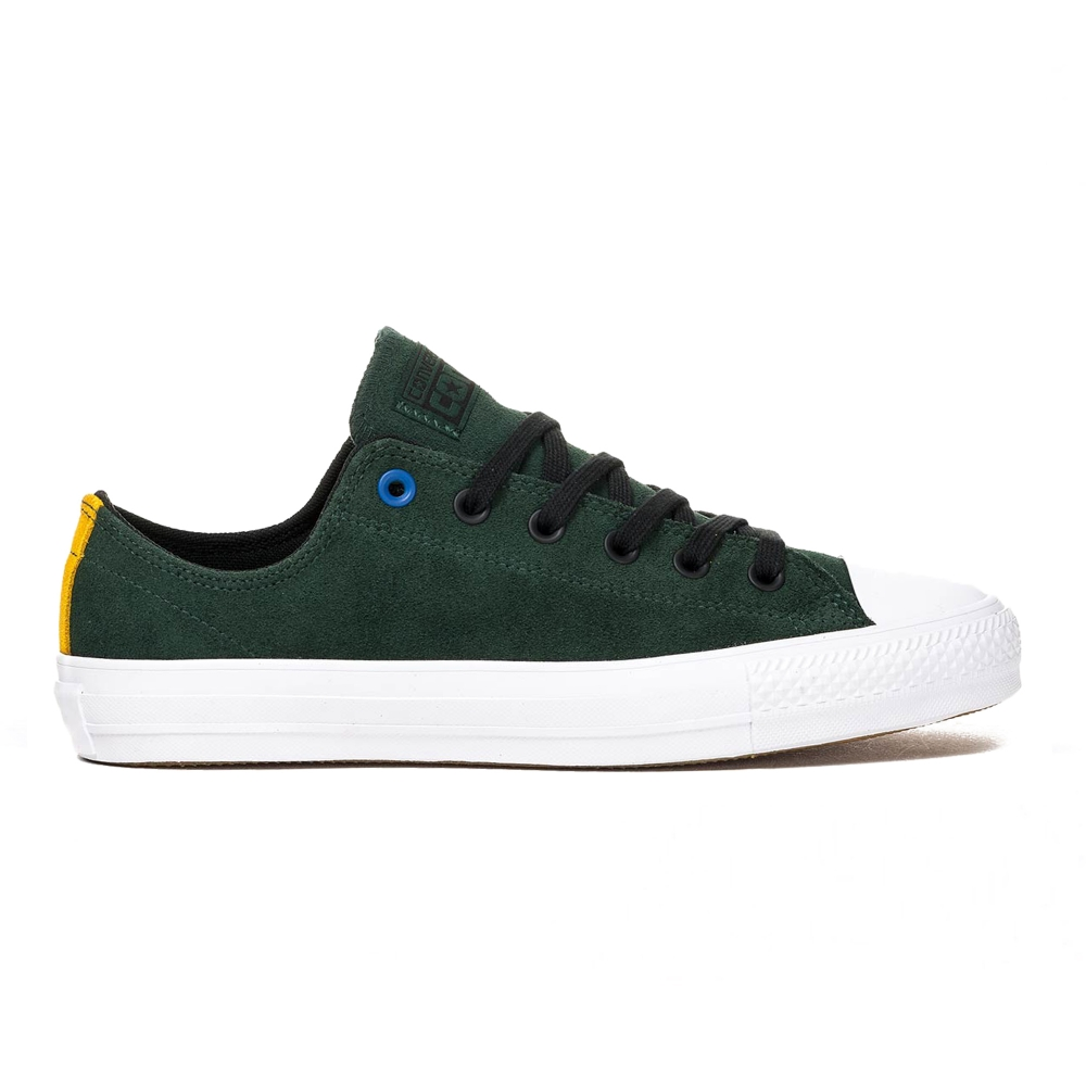 Converse Cons CTAS Pro Suede OX (Deep Emerald/Black/White)
