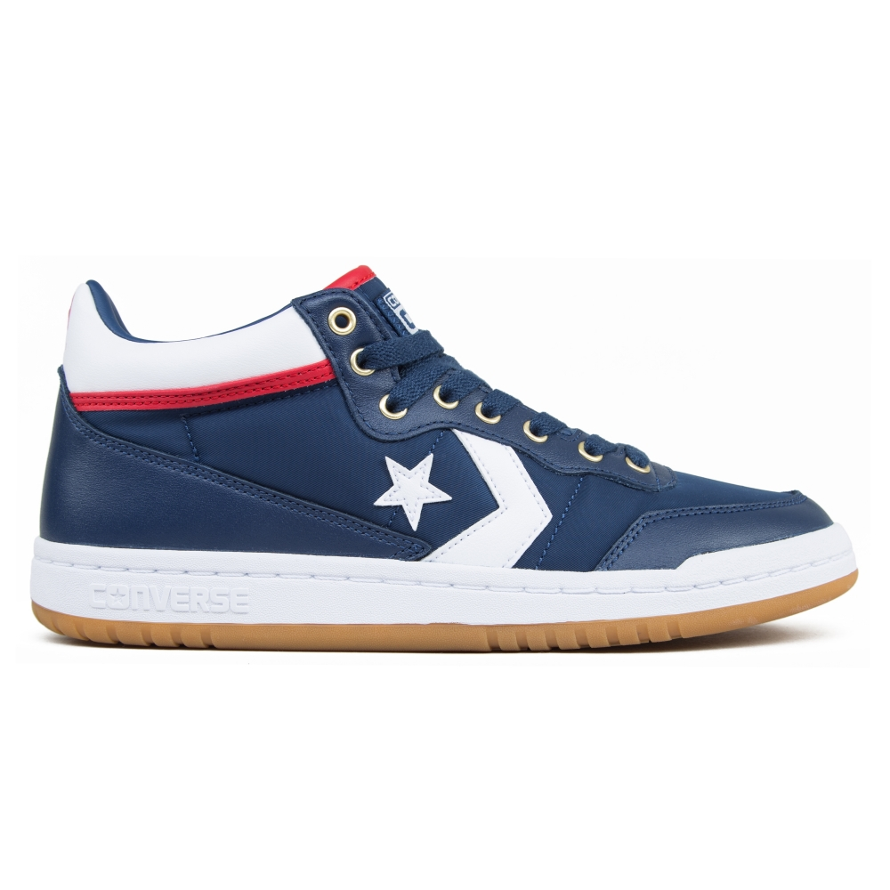 Converse Cons Fastbreak Pro Mid (Navy/White/Enamel Red)