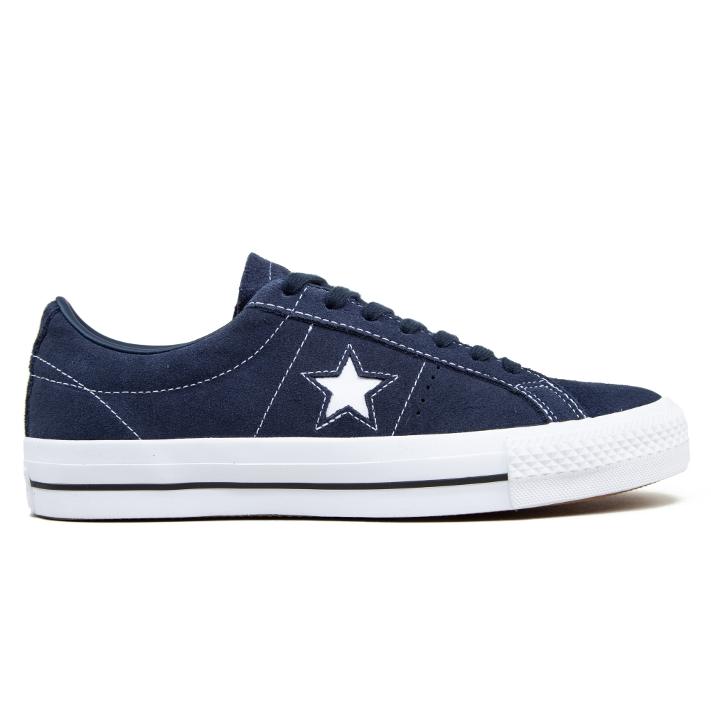 Converse Cons One Star Pro OX (Obsidian/Obsidian/White)