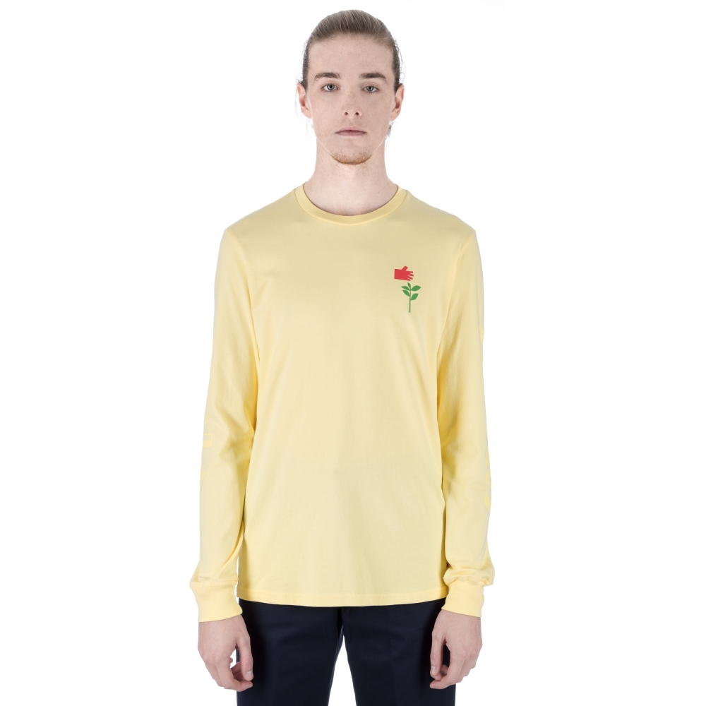 ffac20bc8f46 Converse Cons x Chocolate Long Sleeve T-Shirt (Yellow) - Consortium.