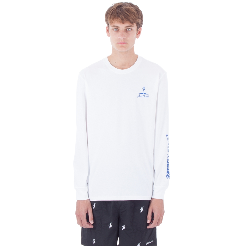 Converse Cons x Polar Skate Co. Long Sleeve T-Shirt (White)