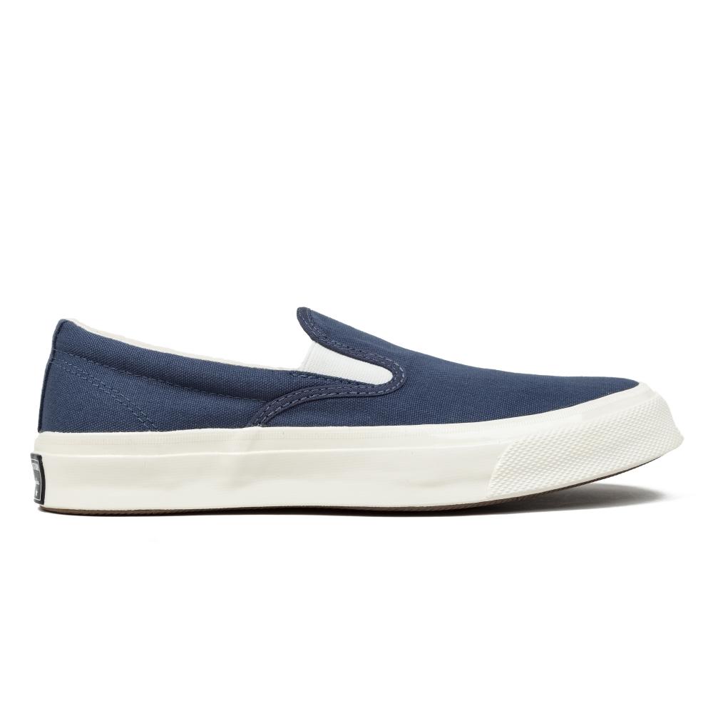converse slip on. converse deck star 67 slip (navy/white/egret) on