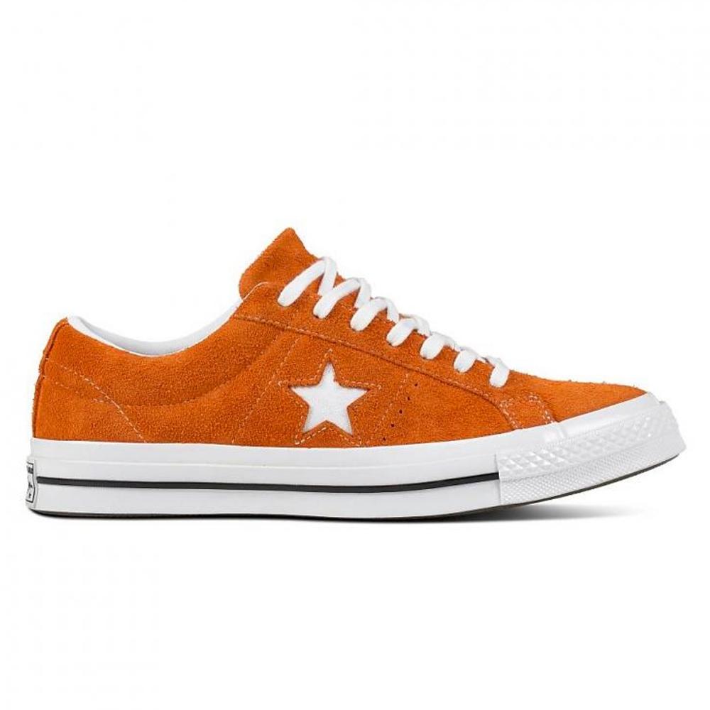 Converse One Star OX (Bold Mandarin/White/White)