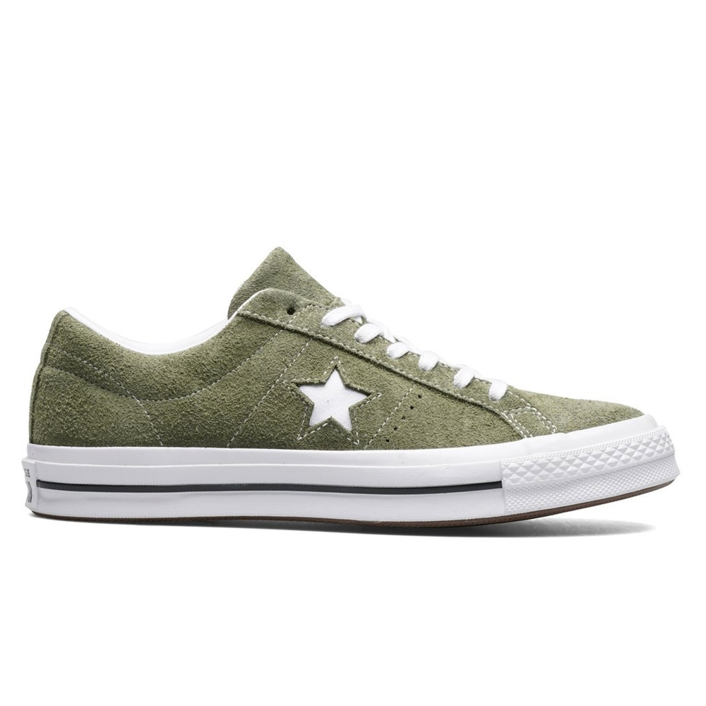 398fb44741a848 Converse One Star OX (Field Surplus White White) - 161576C - Consortium.