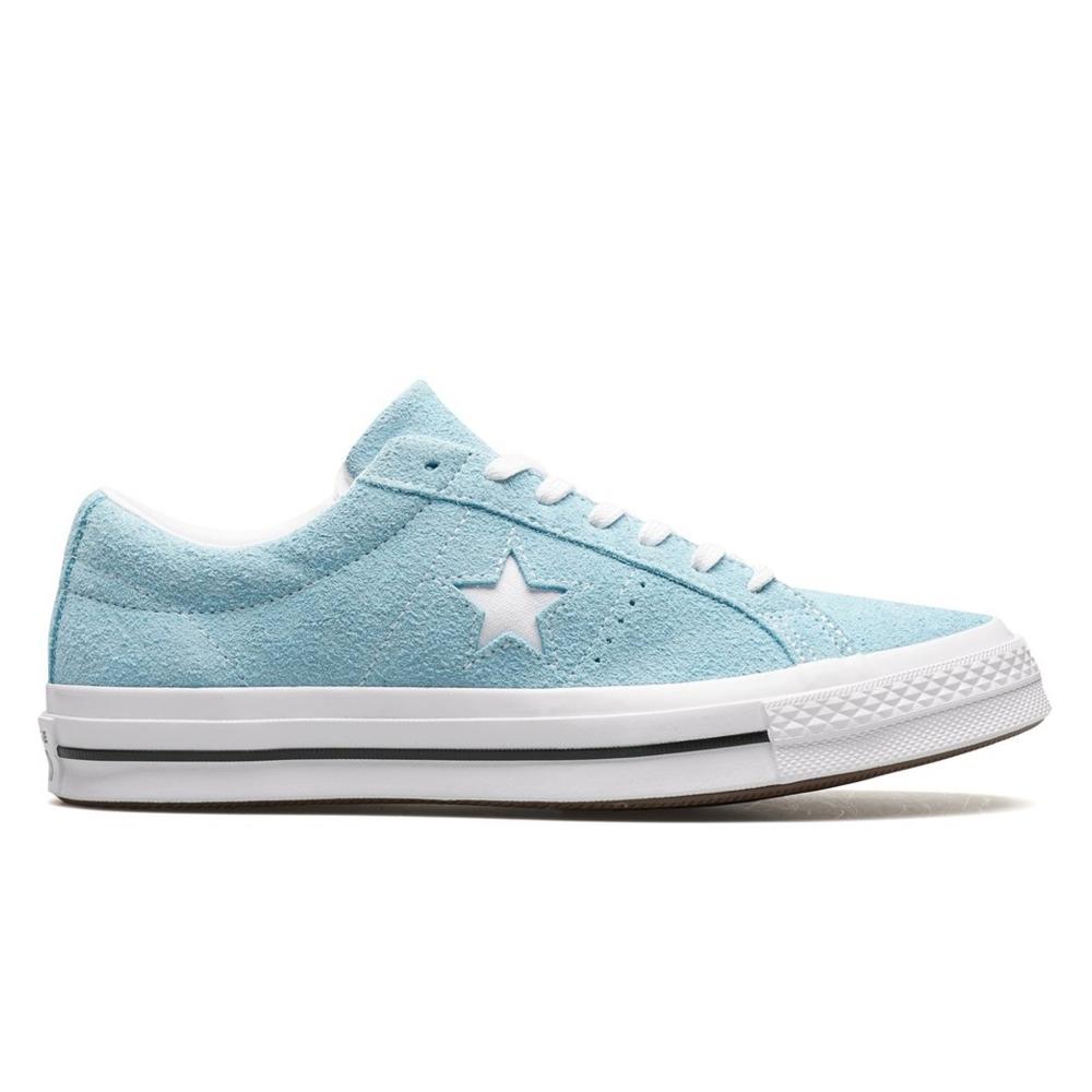 Converse One Star OX (Shoreline Blue/White/White)