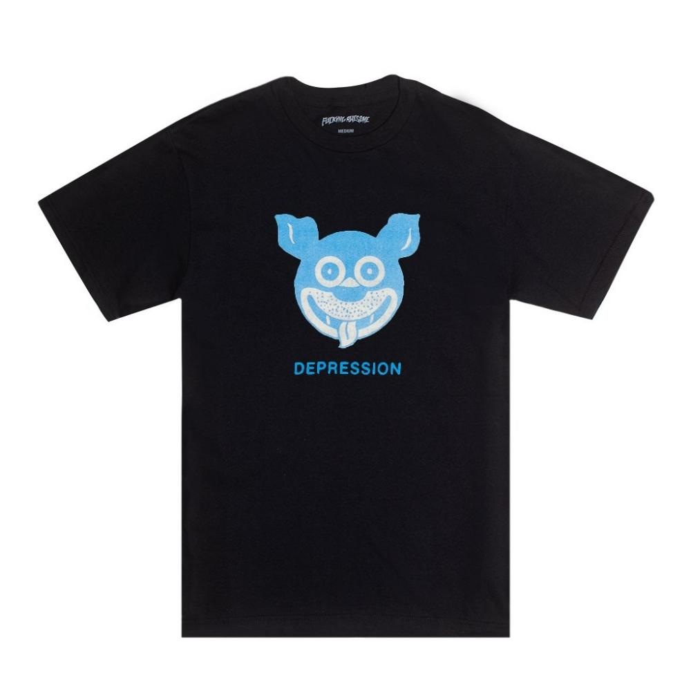 Fucking Awesome Depression T-Shirt (Black)
