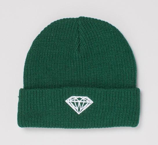731c92a5c47 Diamond Supply Co. Brilliant Fold Beanie (Green) - Consortium.
