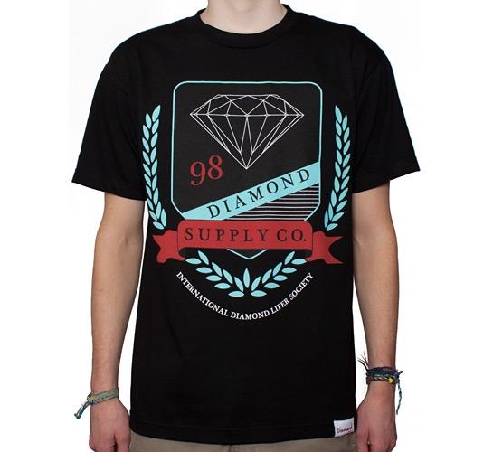 Diamond Supply Co  Diamond Society T-Shirt (Black) - Consortium