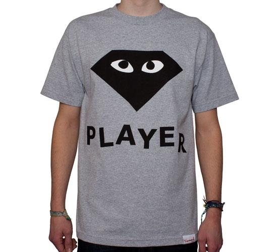 e4c1fa635f8e Diamond Supply Co. Player T-Shirt (Heather) - Consortium.