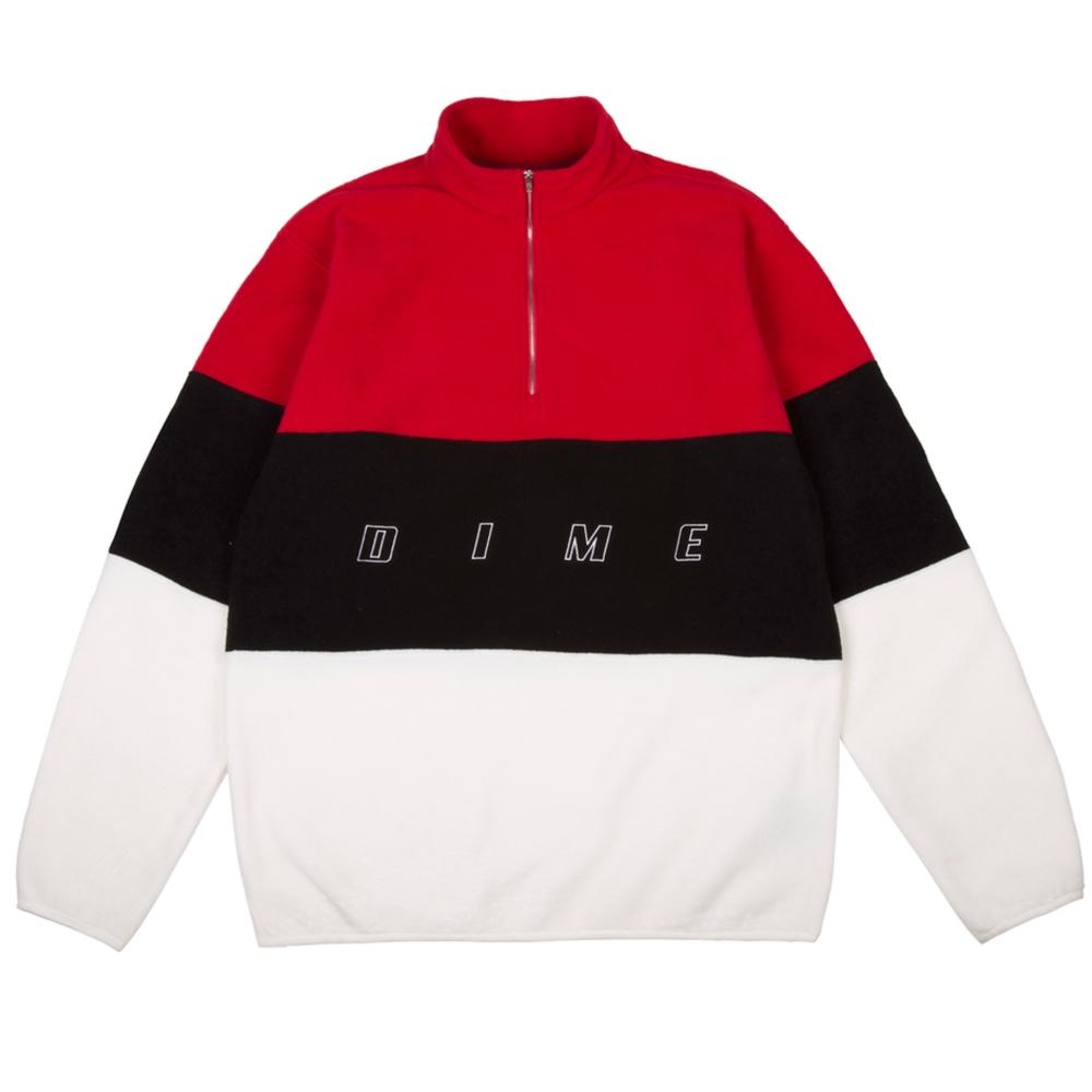Dime 3 Tone Fleece (Red)