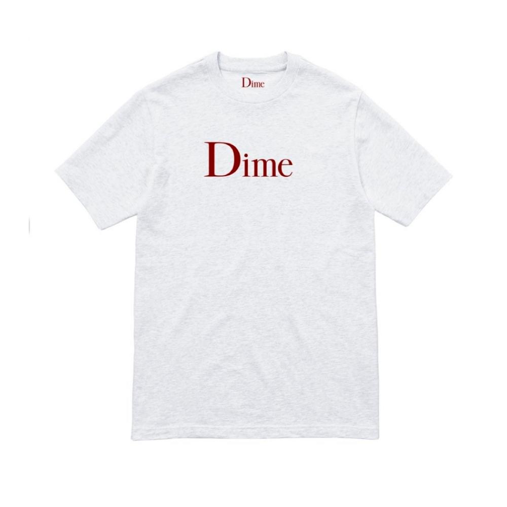 Dime Classic Logo T-Shirt (Ash)