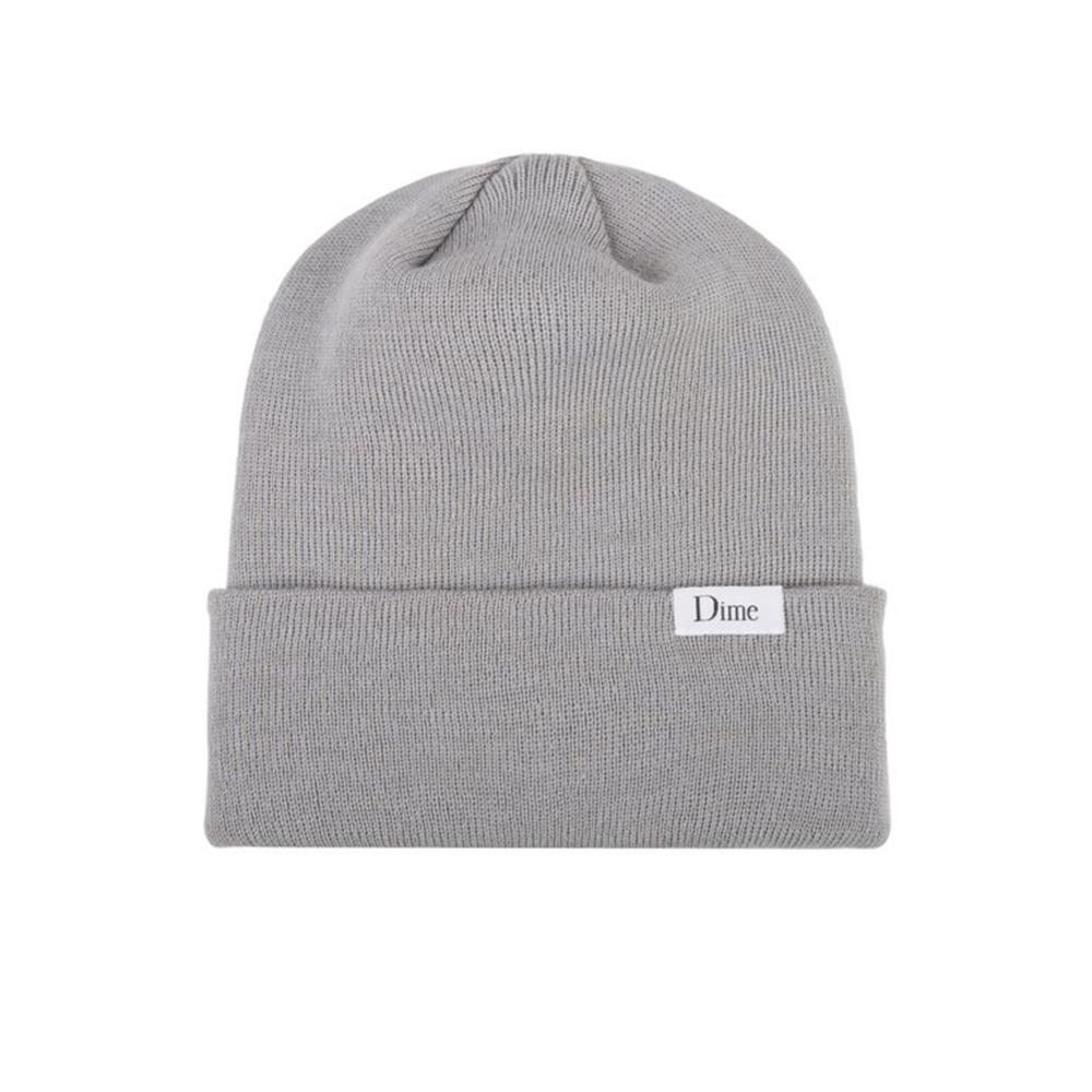 Dime Classic Wool Beanie (Grey)