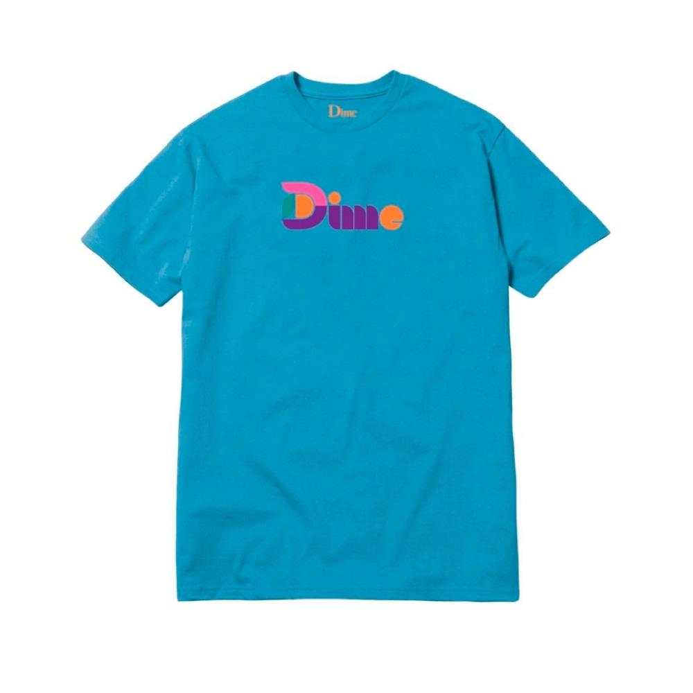 Dime Good Morning T-Shirt (Blue)