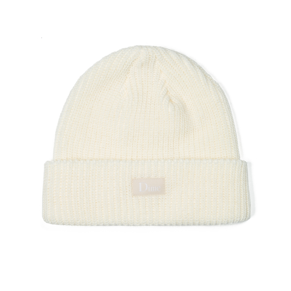 Dime Heavyweight Beanie (Cream)