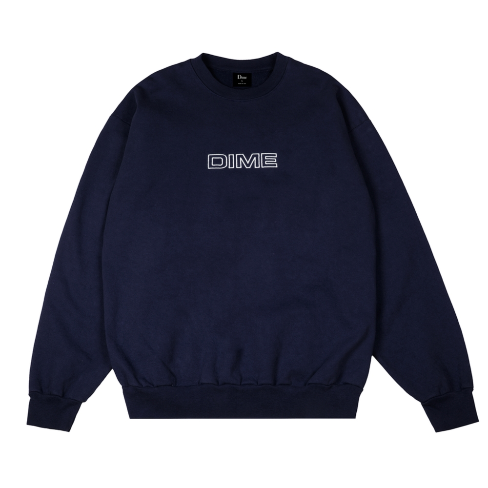 Dime Important Crew Neck Sweatshirt (Navy)