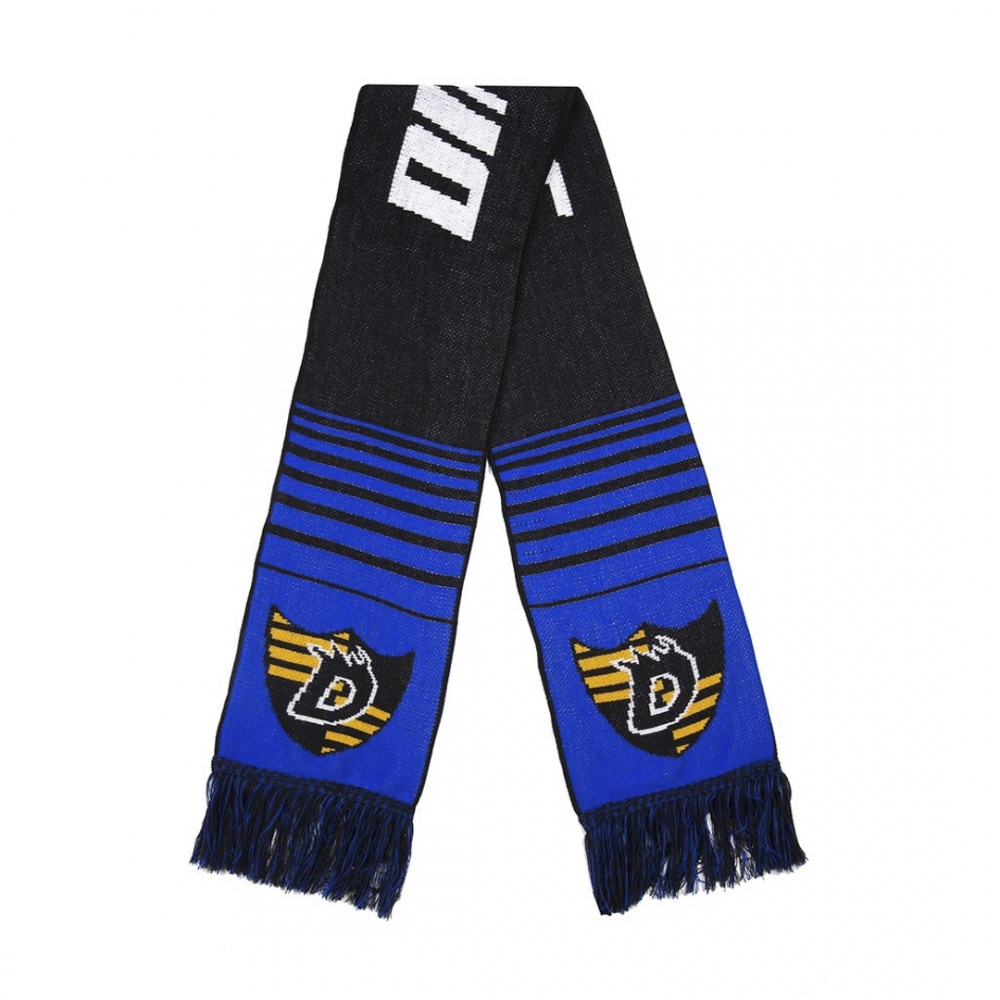 Dime Scarf (Black/Blue)