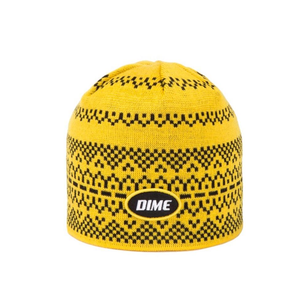 Dime Skidoo Beanie (Yellow)