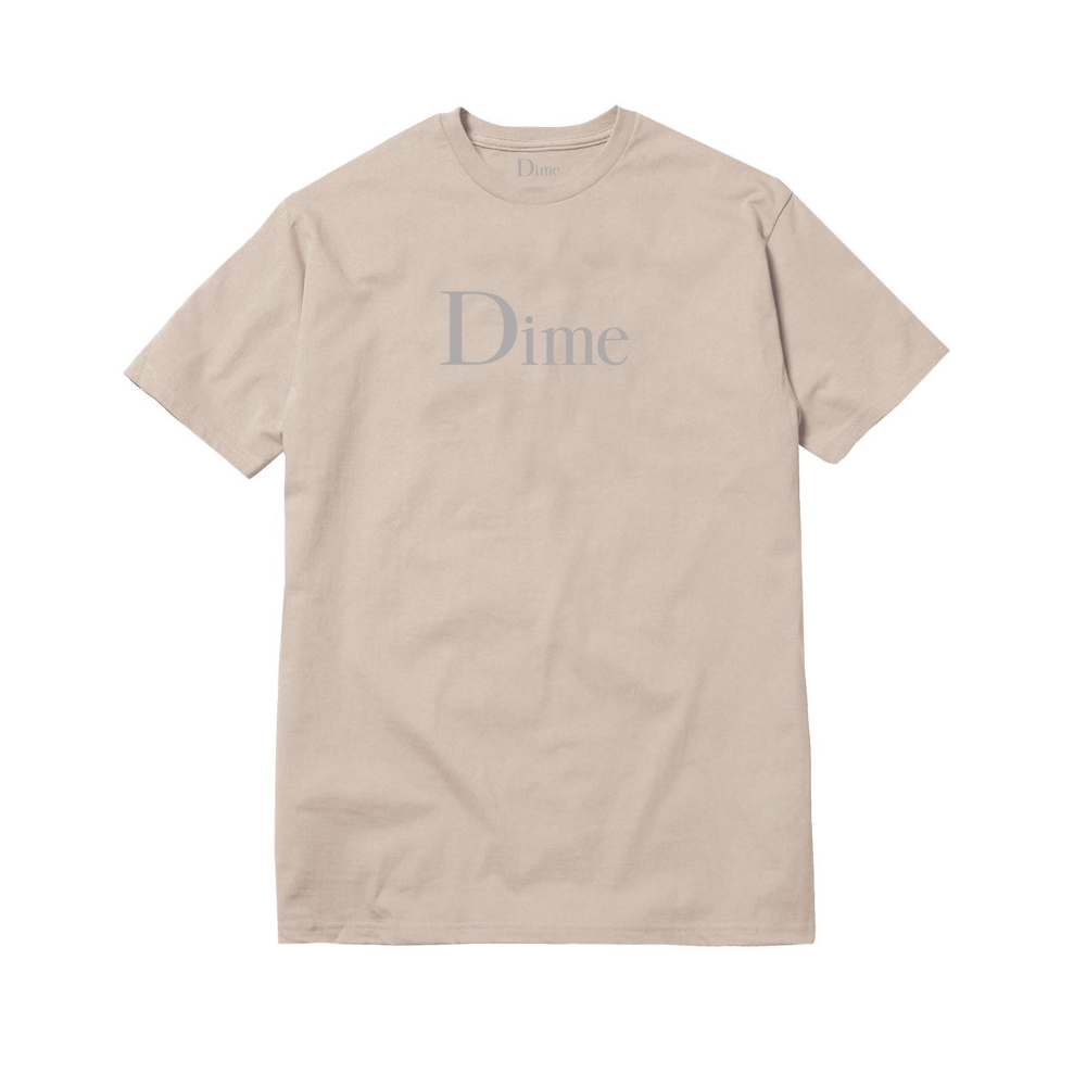 Dime Classic Logo T-Shirt (Sand)