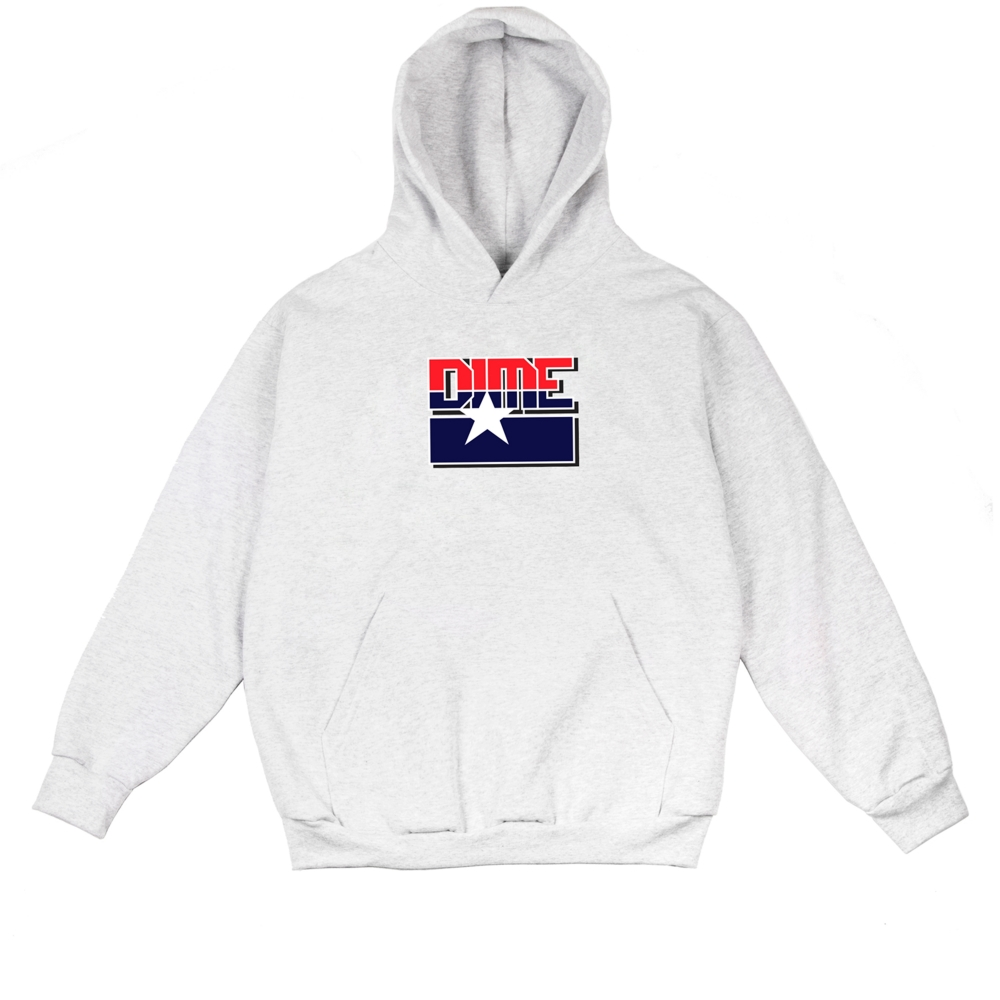 Dime All-Star Pullover Hooded Sweatshirt (Ash)