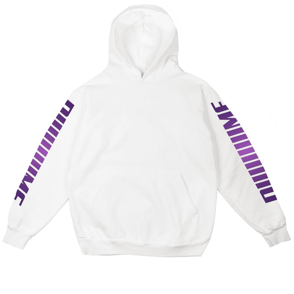 Dime Screaming Pullover Hooded Sweatshirt (White)