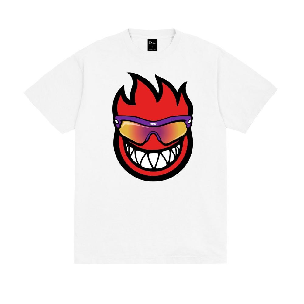 Dime x Spitfire T-Shirt (White)