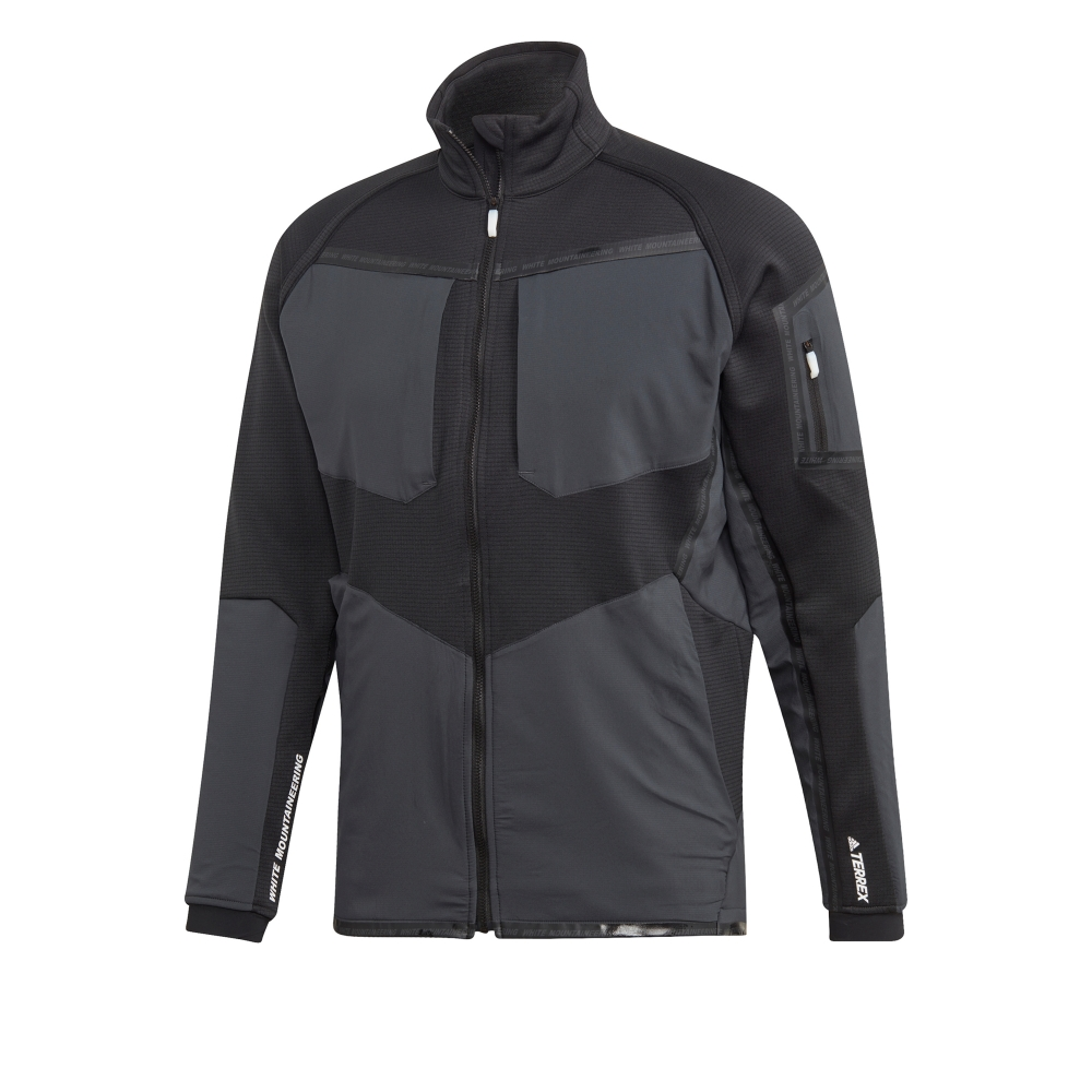 adidas TERREX by White Mountaineering Stockhorn Fleece Jacket (Black)