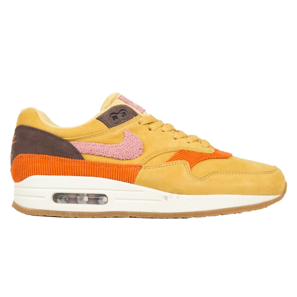 Nike Air Max 1 'Crepe Sole' (Wheat Gold/Rust Pink-Baroque Brown)