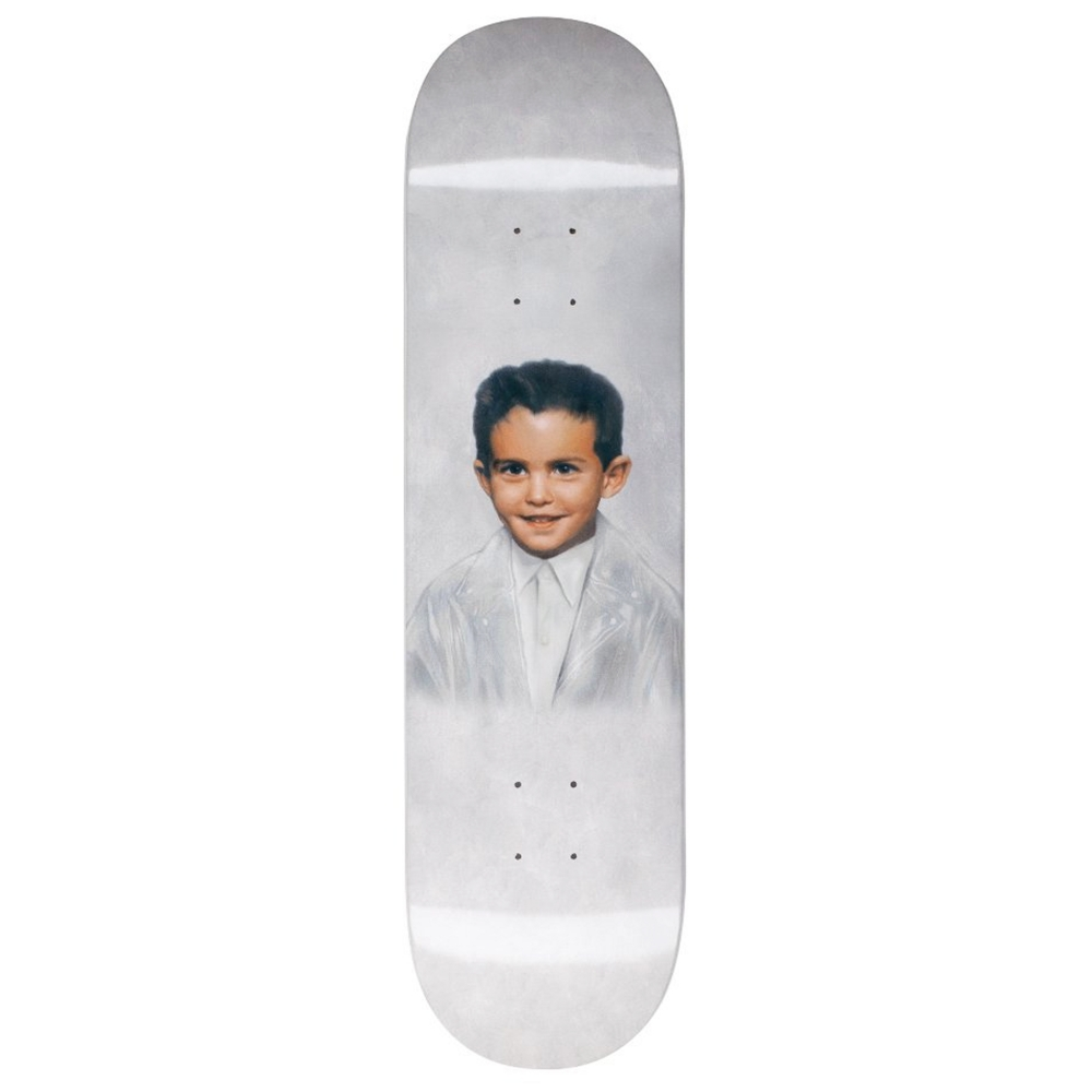"Fucking Awesome Dylan Dipped Skateboard Deck 8.25"" (White)"