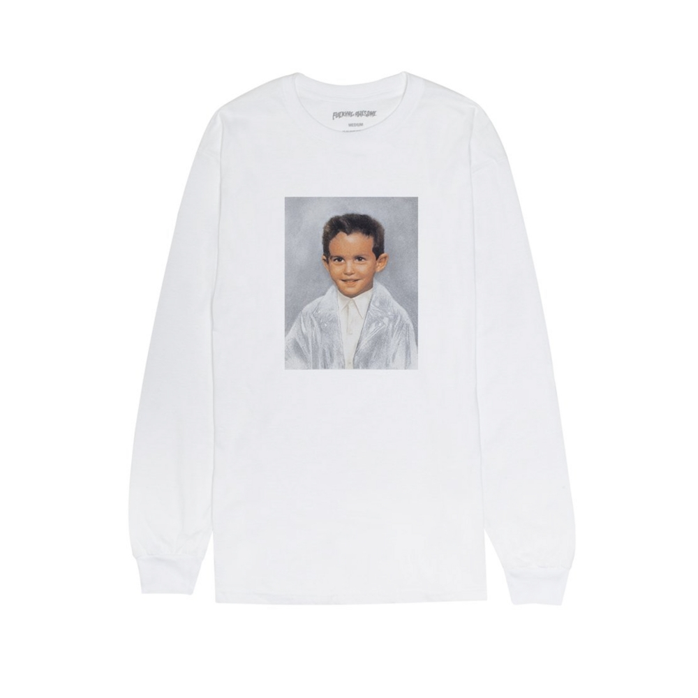 Fucking Awesome Dylan Long Sleeve T-Shirt (White)