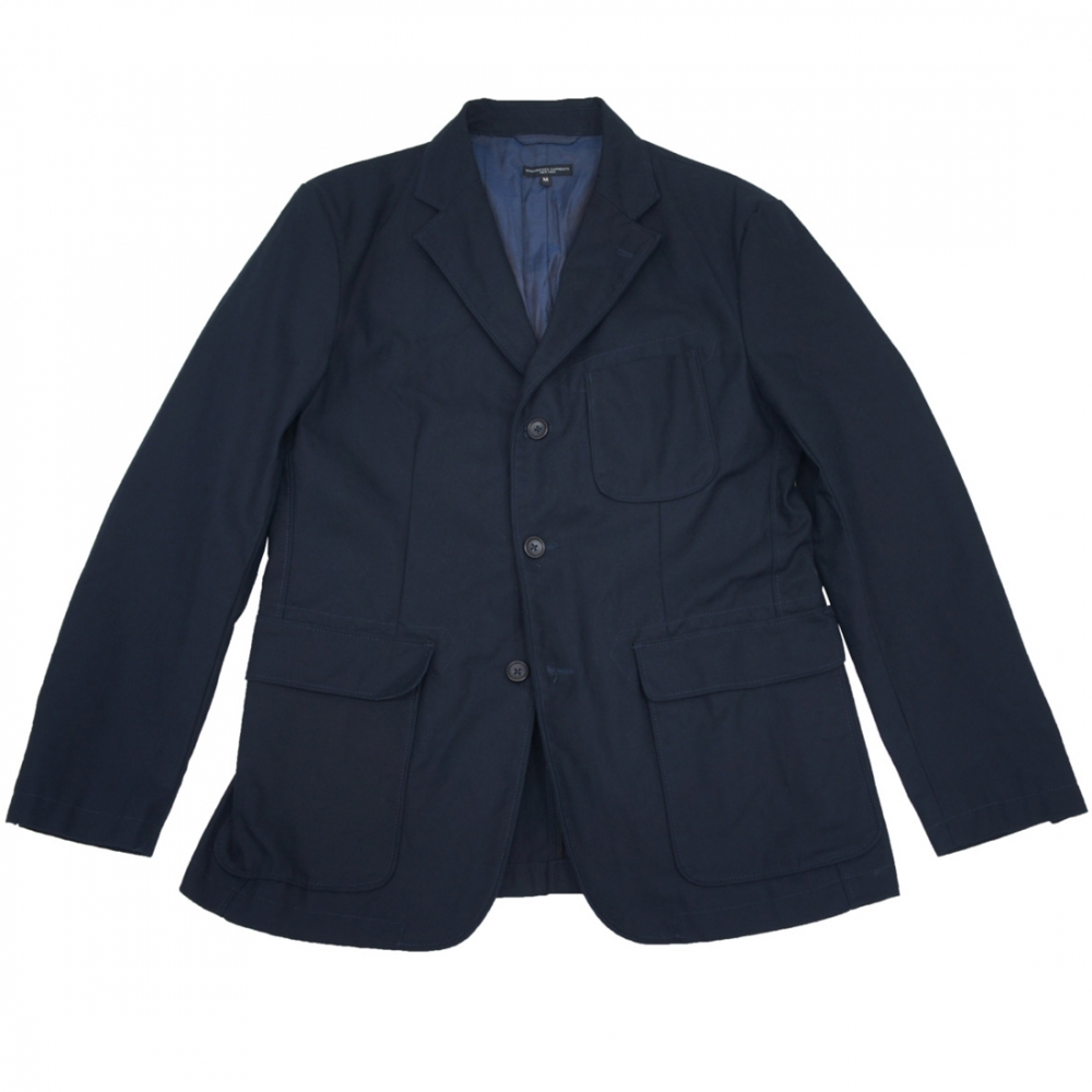 Engineered Garments Baker Jacket (Dark Navy Worsted Heavy Wool)