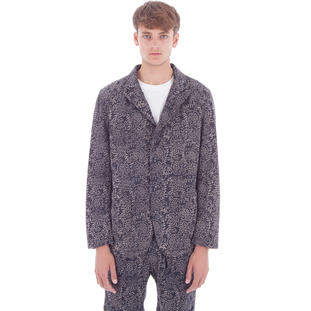 Engineered Garments Bedford Jacket (Navy Paisley Twill)