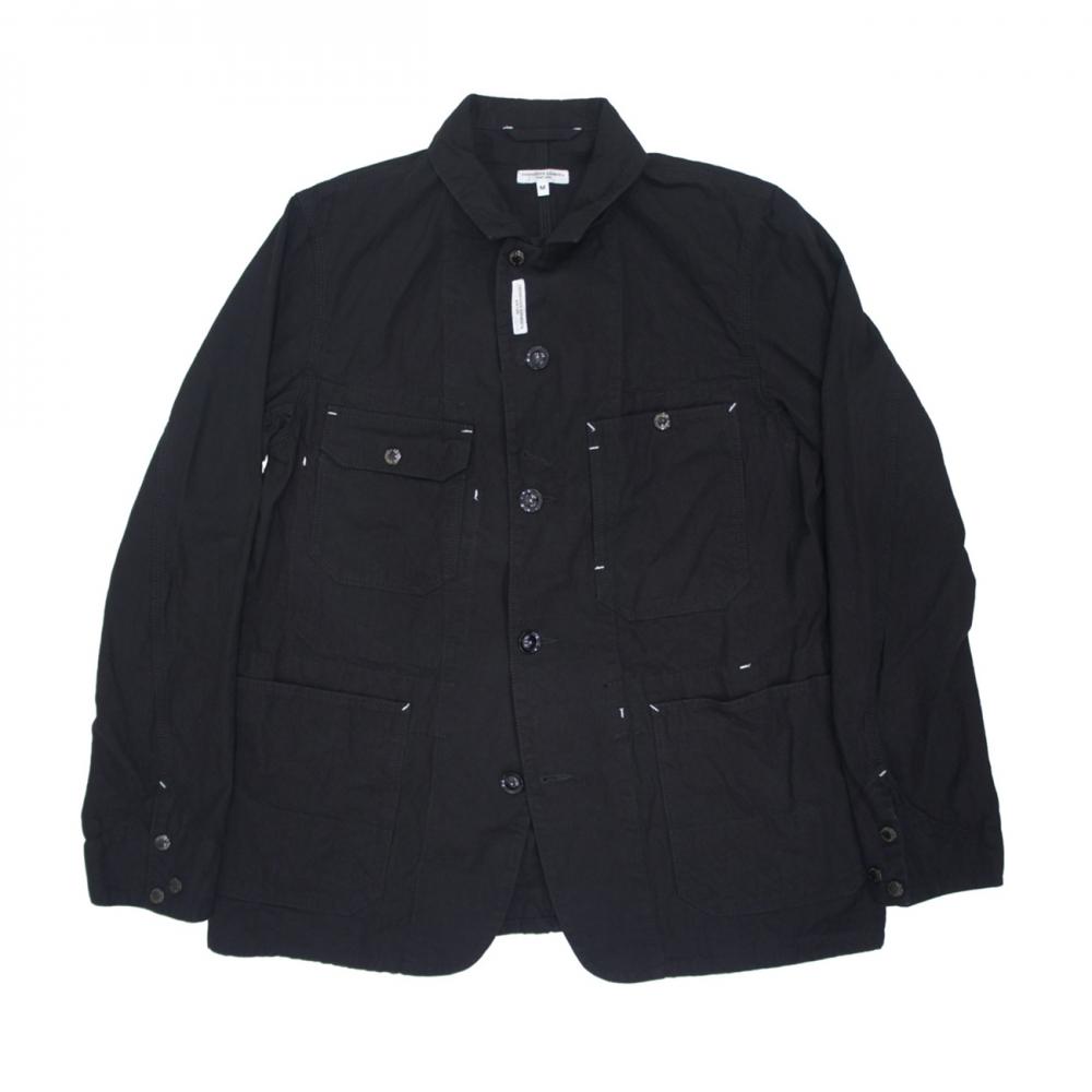 Engineered Garments Coverall Jacket (Black 7.5oz Slub Denim)