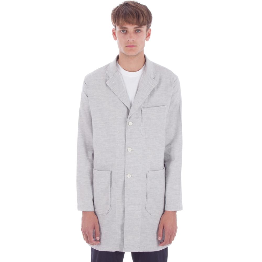 Engineered Garments Lab Shirt (Heather Grey Light Weight Twill)