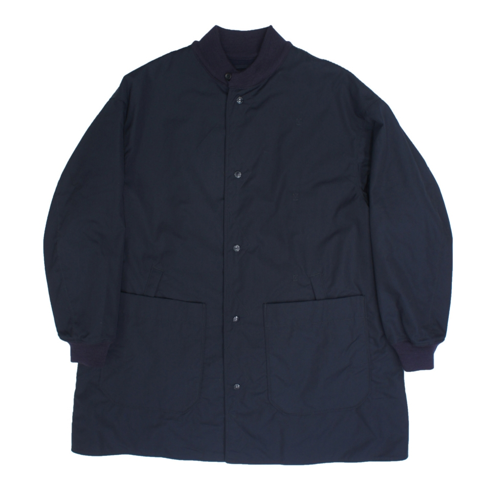 Engineered Garments Liner Jacket/Melton (Dark Navy PC Poplin)