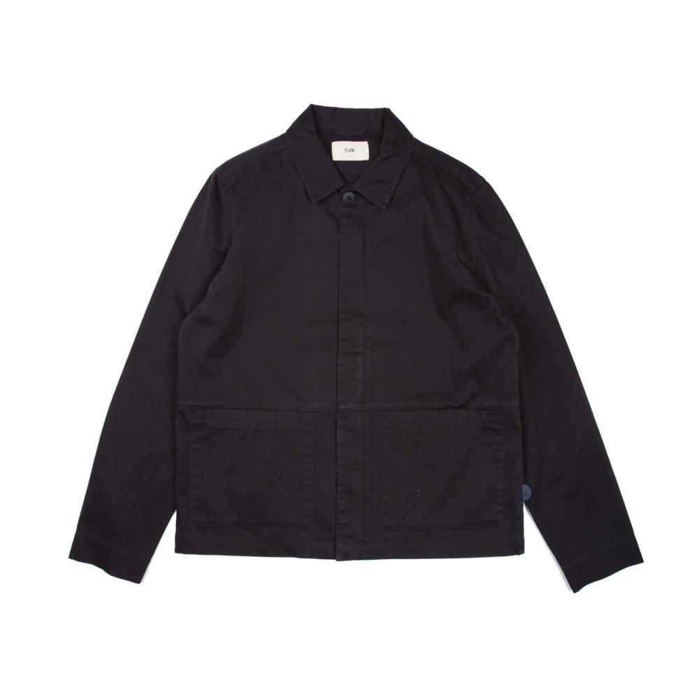 Folk Burner Jacket (Black)