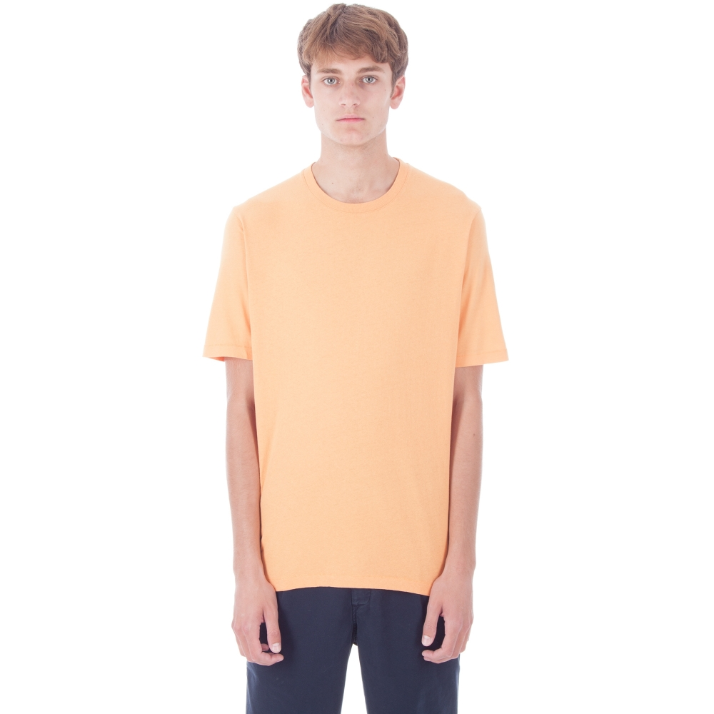 Folk Contrast Sleeve T-Shirt (Bitter Orange)